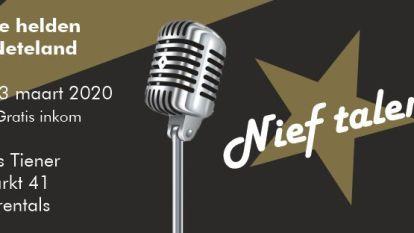 Veelbelovende muzikanten uit het Neteland nemen het in grote finale tegen elkaar op tijdens 'Nief Talent'