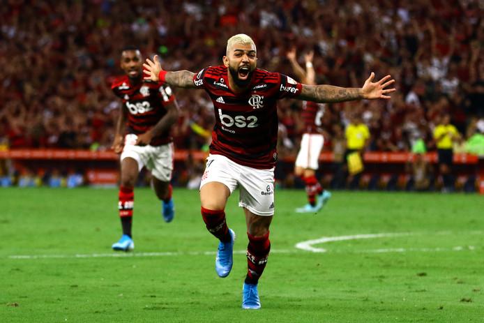 Gabriel 'Gabigol' Barbosa, de goaltjesdief van Flamengo.