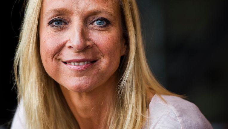 Floortje Dessing bezoekt de Britse Jenny (75), die al dertig jaar leeft in een zelf gestichte ecologische commune, in Floortje naar het einde van de wereld. Beeld anp