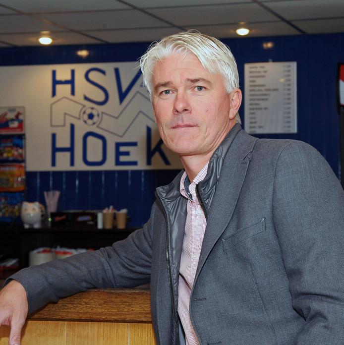 Jannes Tant, de trainer van Hoek.