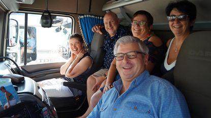 Bewoners De Vleugels genieten van 33ste Truckrun