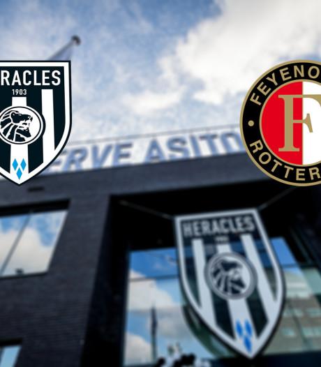Feyenoord neemt het op kunstgras op tegen Heracles