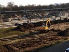 Nee, dit is niet het grondwerk voor het Chinees paviljoen in Eindhoven