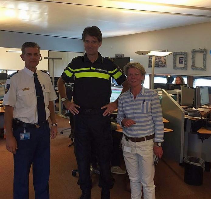 Op bezoek bij het SRC van de politie.