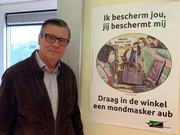 Burgemeester Guido De Padt laat de politie de controles opvoeren.