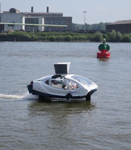 Hebben we straks een vliegende auto als watertaxi in de Drechtsteden?