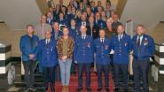 65 eretekens uitgereikt aan medewerkers politiezone Blankenberge/Zuienkerke