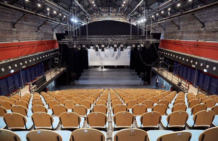 De zaal van Theater De Nieuwe Regentes in Den Haag, dat de komende vier jaar een twee keer zo hoge gemeentesubsidie zou moeten ontvangen. Beeld Getty