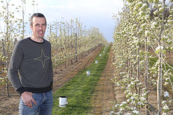 Fruitboer Gunther Stockx plaatste 360 vuurpotten.
