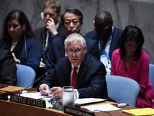 Amerikaanse minister Tillerson haalt uit naar VN om Noord-Korea