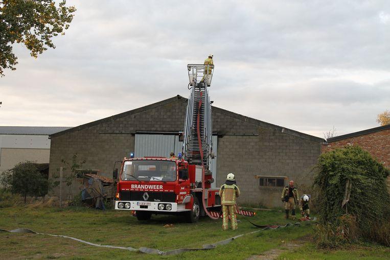 De brandweer deed nadien nog een grondige controle.