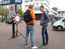 Straatverkopers veroveren aanlooproute naar binnenstad