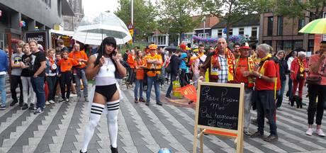 Pieter Vreedeplein is 'zalmroze'