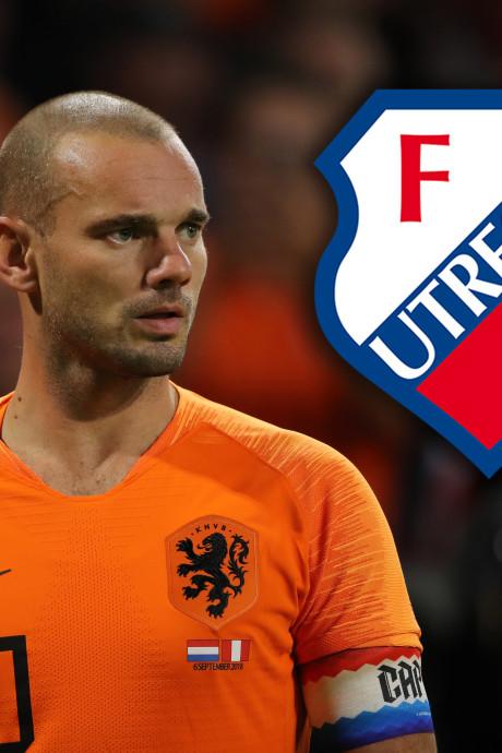 Sneijder wil nog één seizoen voetballen: dan toch naar FC Utrecht?