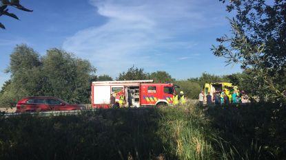 R4 versperd na ongeval in Drongen: Vier gewonden
