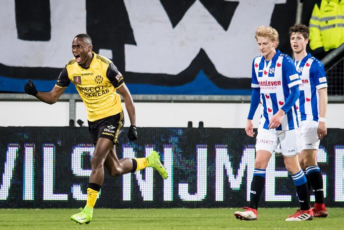 Roda JC speelde zaterdag gelijk tegen Heerenveen, nadat de ploeg eerst op achterstand was gekomen (1-1).