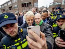 Beveiliging rond Wilders enorm: bezoek aan Spijkenisse verloopt rustig