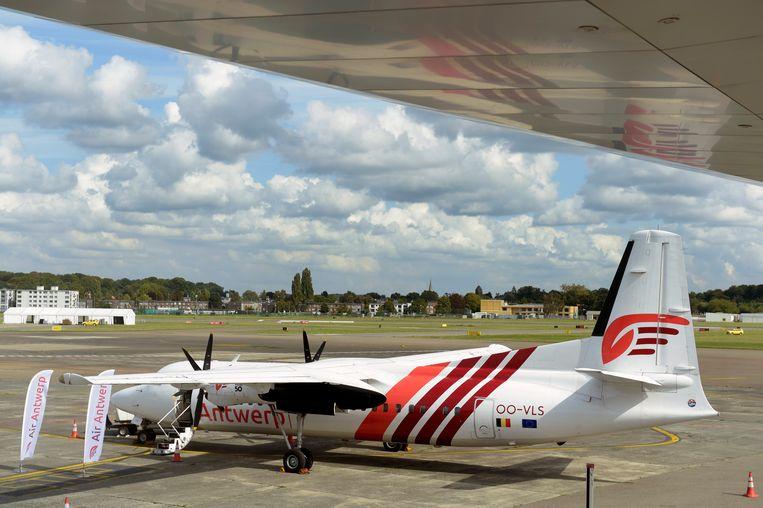 Air Antwerp nam half september de verbinding van Antwerpen naar London City over.
