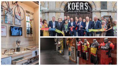 Wielermuseum KOERS opent na 4 jaar opnieuw de deuren na renovatie van 6 miljoen