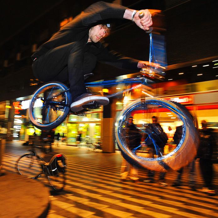Urban sports in Tilburg. Archieffoto BeeldWerkt