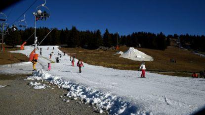 Vijand van sneeuw: sneeuwkanonnen zorgen voor winterpret, maar dragen ook bij tot de opwarming