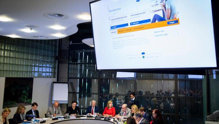 De Tweede Kamer debatteerde eerder dit jaar over electronische identificatie, na de problemen met DigiD. Beeld anp