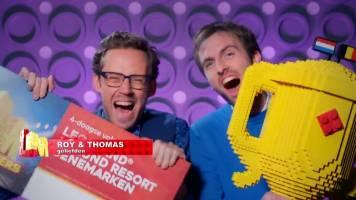 Belgisch duo Thomas en Roy wint LEGO Masters 2021!