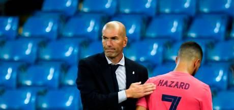 """Zidane évoque le cas Hazard: """"Je ne peux pas vous dire précisément quand il va rejouer"""""""