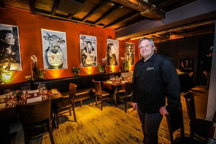 Wim Vansteelant van restaurant Guillaume.