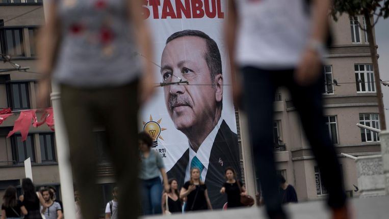 Turkse president Erdogan Beeld anp