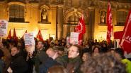 Vreedzaam protest tegen bezoek van Italiaanse 'fascistische' politicus Matteo Salvini