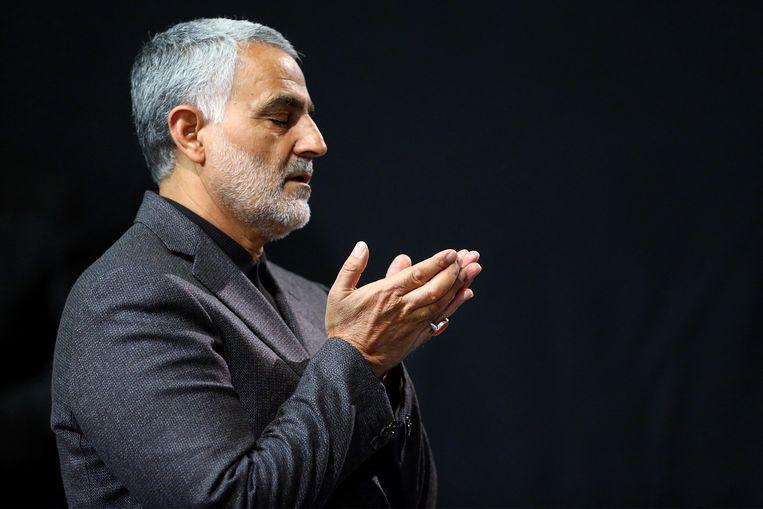 Generaal Qasem Soleimani. Beeld AFP