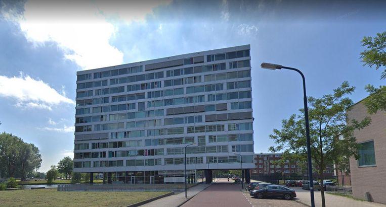 De Jan van Zutphenstraat in Nieuw-West Beeld Google Streetview
