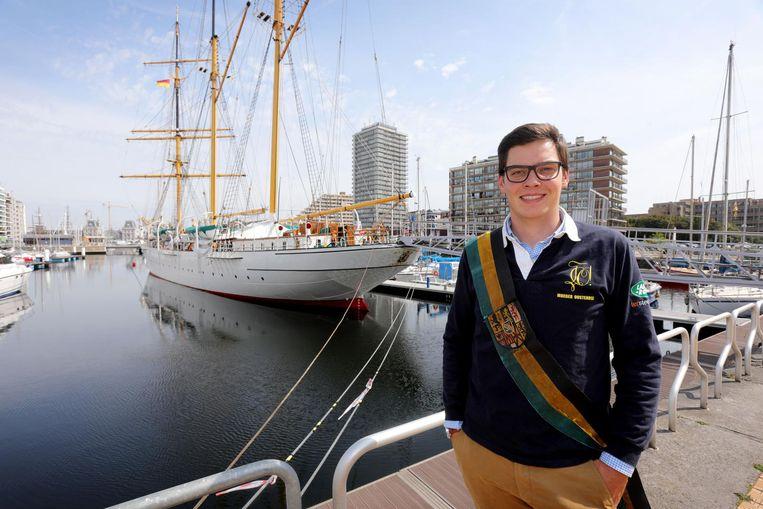 De nieuwe 'eerste minister' van de Leuvense studentenclubs komt uit Oostende.