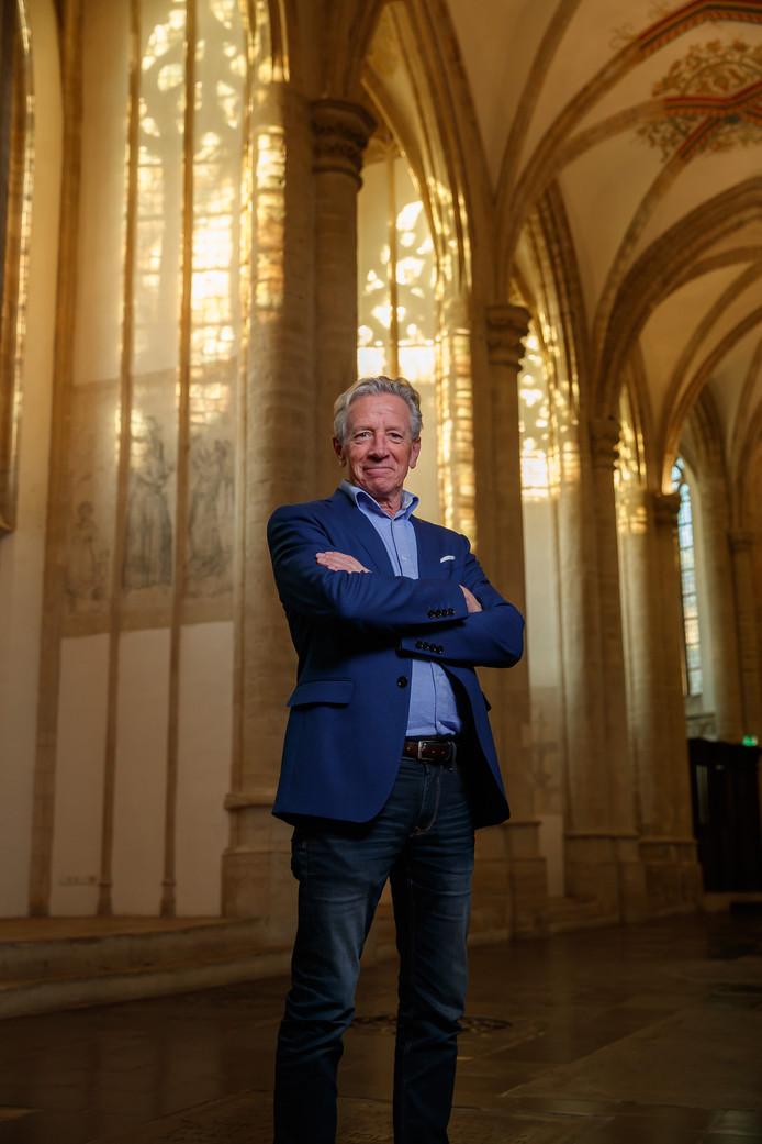 Willem van der Vis, vertrekkend directeur van de Grote Kerk in Breda.