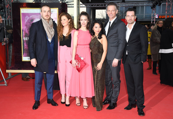 De cast van Bad Banks.