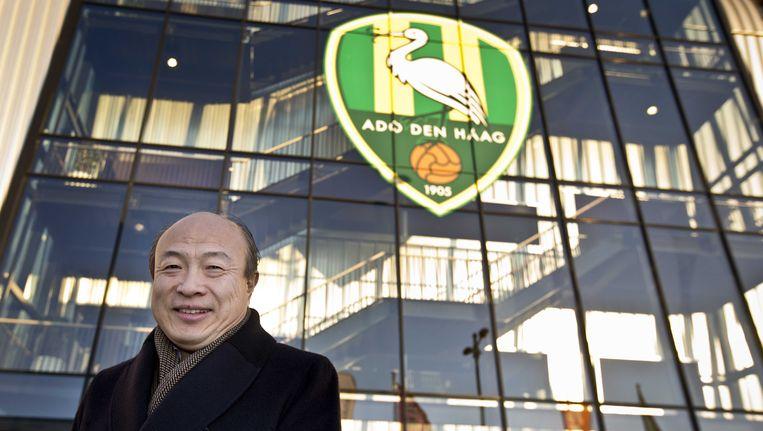 ADO-eigenaar Hui Wang. Beeld anp