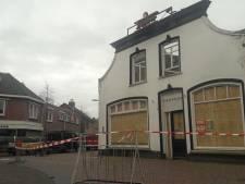Storm teistert karkas De Kloek in Oosterhout: Leijsenhoek deels afgezet
