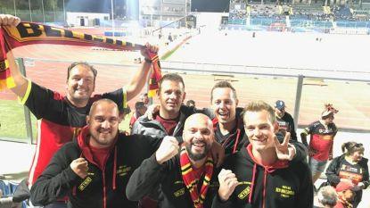 Kempense vrienden zakken samen met 800 Belgische fans af richting San Marino om Rode Duivels te steunen