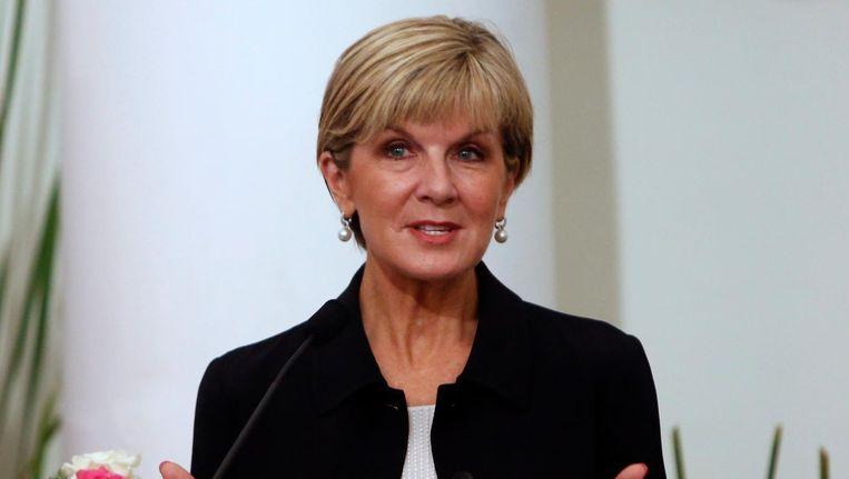 De Australische minister van Buitenlandse Zaken Julie Bishop maakte het nieuws maandag bekend.