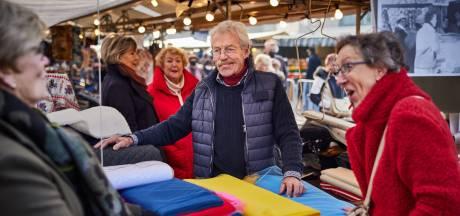 Markante marktkoopman Jan Ladage (78) is al 60 jaar in de mode op de Binnenrotte