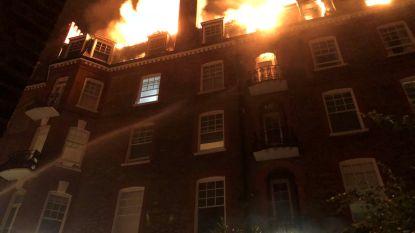 Grote brand in luxueus appartementsgebouw in Londen