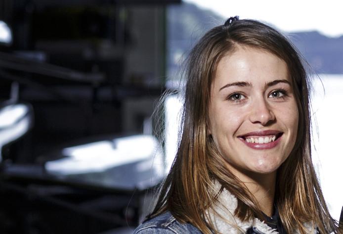 Martine Veldhuis, wierden, roeien