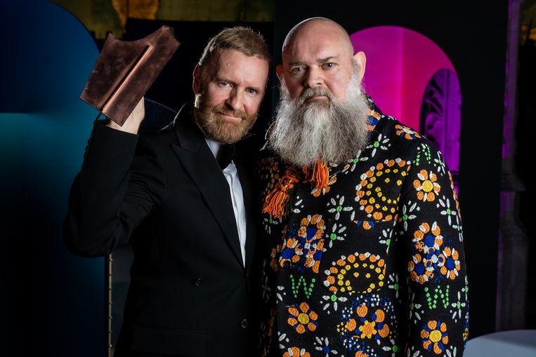 Dirk Van Saene (links) en Walter Van Beirendonck.