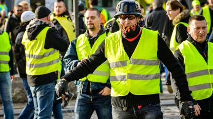 Gele hesjes maken amok in Antwerpen