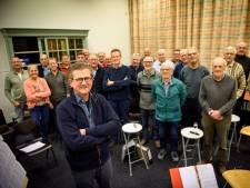 Theo van Heugten kan veel kwijt in zingen als gouden lid van a Capella Lierop