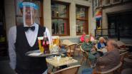 """Rustige herstart voor Leuvense horeca, maar vaste klanten vinden de weg: """"Ze stonden om 8 uur al aan de deur"""""""