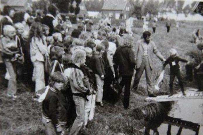 Kindervakantiewerk Lith, begin jaren 70