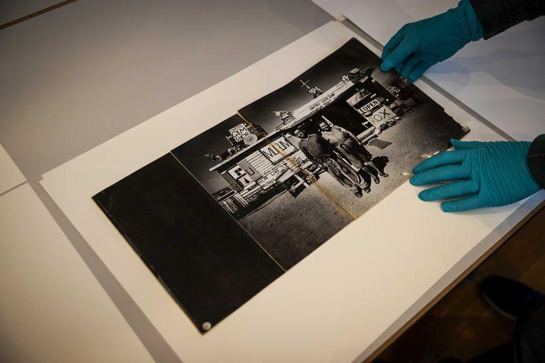 Een van de foto's van Ed van der Elsken.  Beeld ANP
