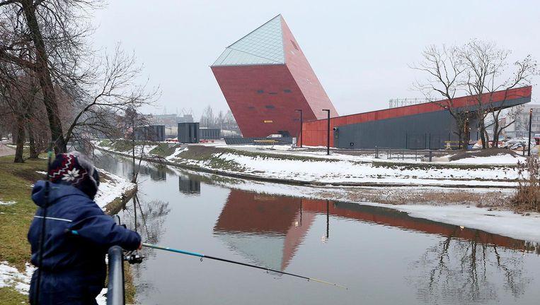 De bouw van het museum nam acht jaar in beslag. Beeld AP